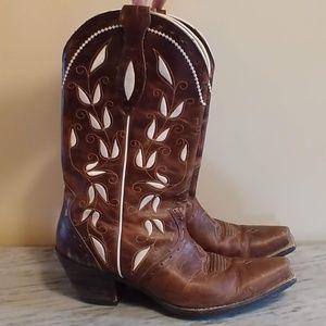 Ariat Brown Cowboy Boots